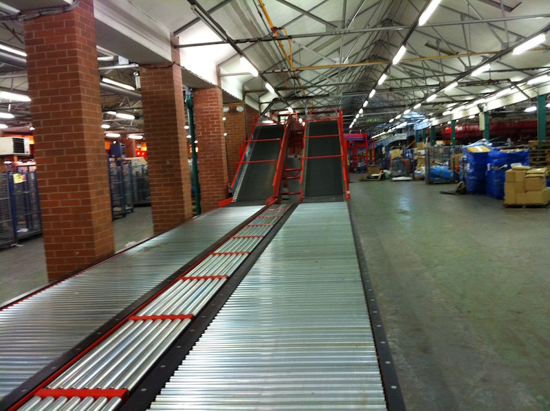 24v dc Powered roller conveyors
