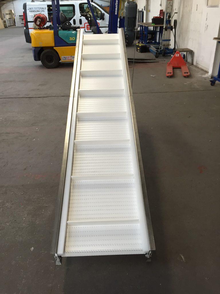 Modular Belt Conveyor for Sea Food